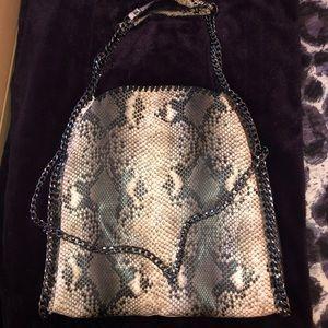 Steve Madden Snakeskin print bag